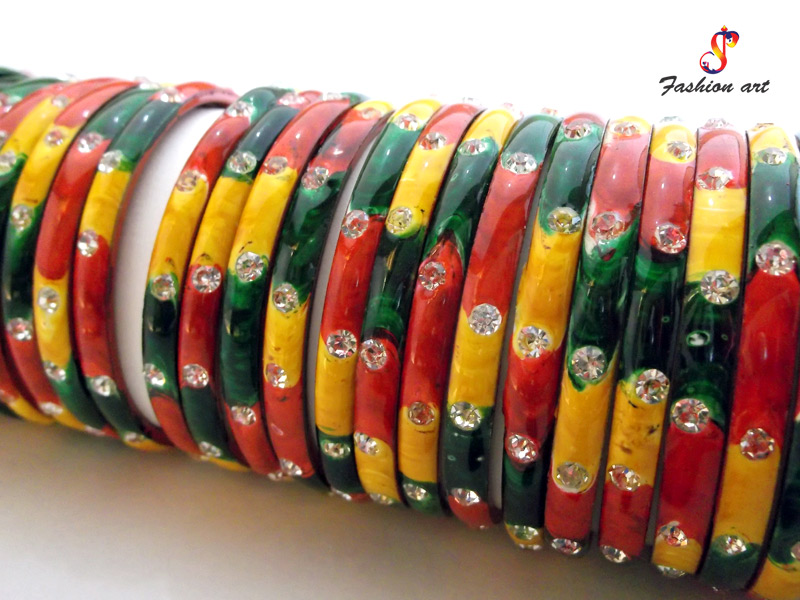 Multi-Colour Bangles