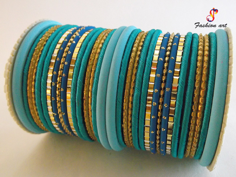 Silk Thread Bangle Sets