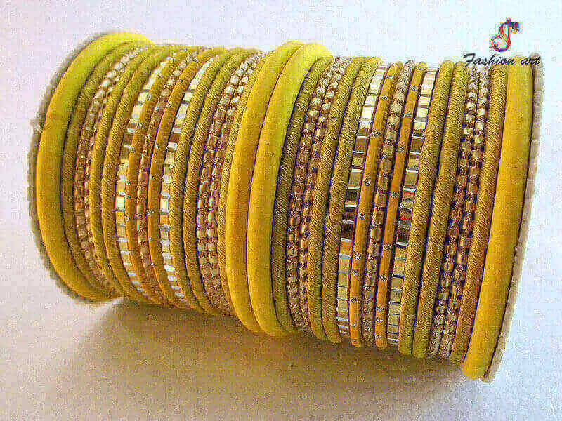 Fabric Bangles in Noida