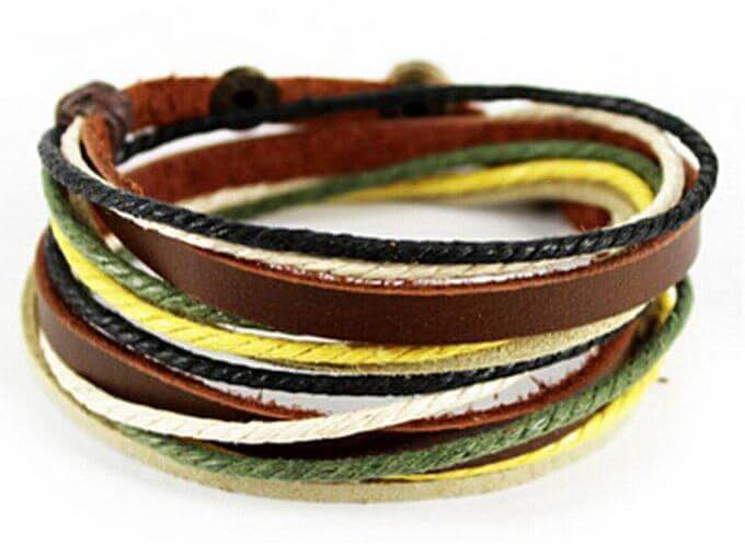 Leather Bangles in Delhi