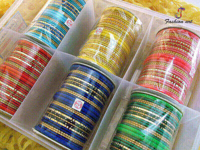Silk Thread Bangle Sets in Malaysia