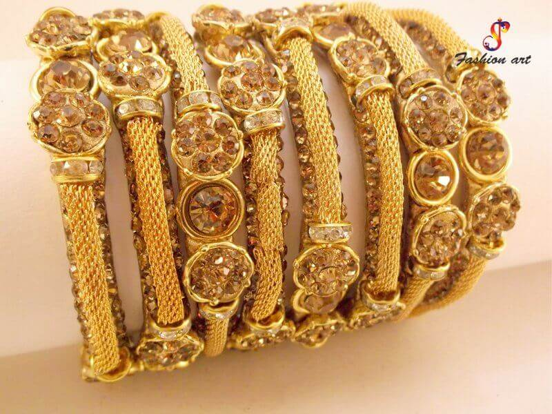 Studded Bangles in Orissa
